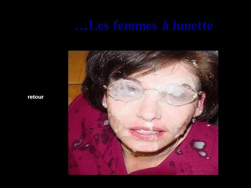 …Les femmes à lunette retour
