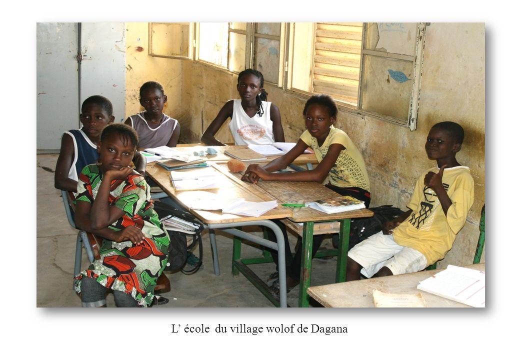 L' école du village wolof de Dagana