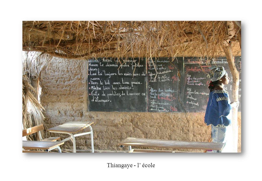 Thiangaye - l' école