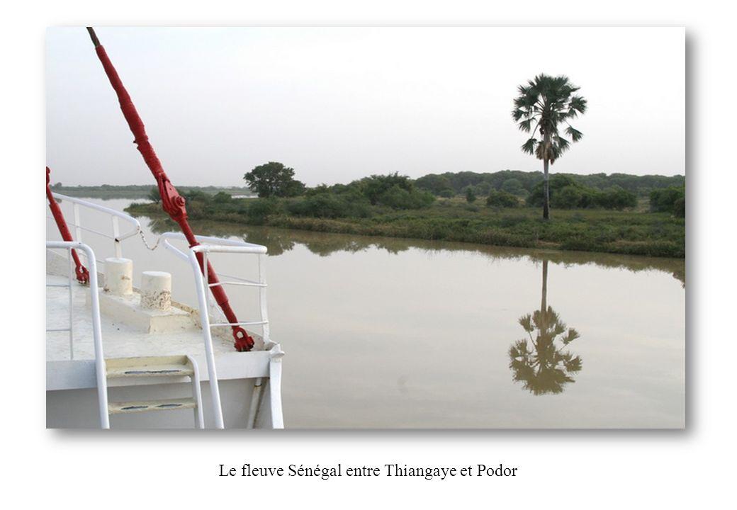 Le fleuve Sénégal entre Thiangaye et Podor