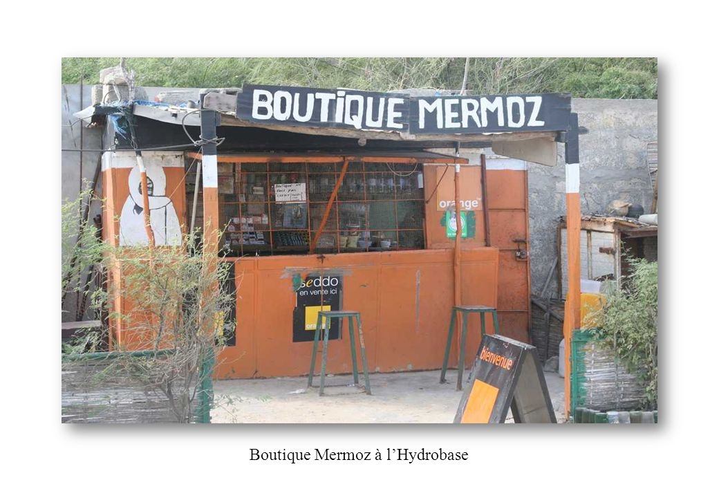 Boutique Mermoz à l'Hydrobase