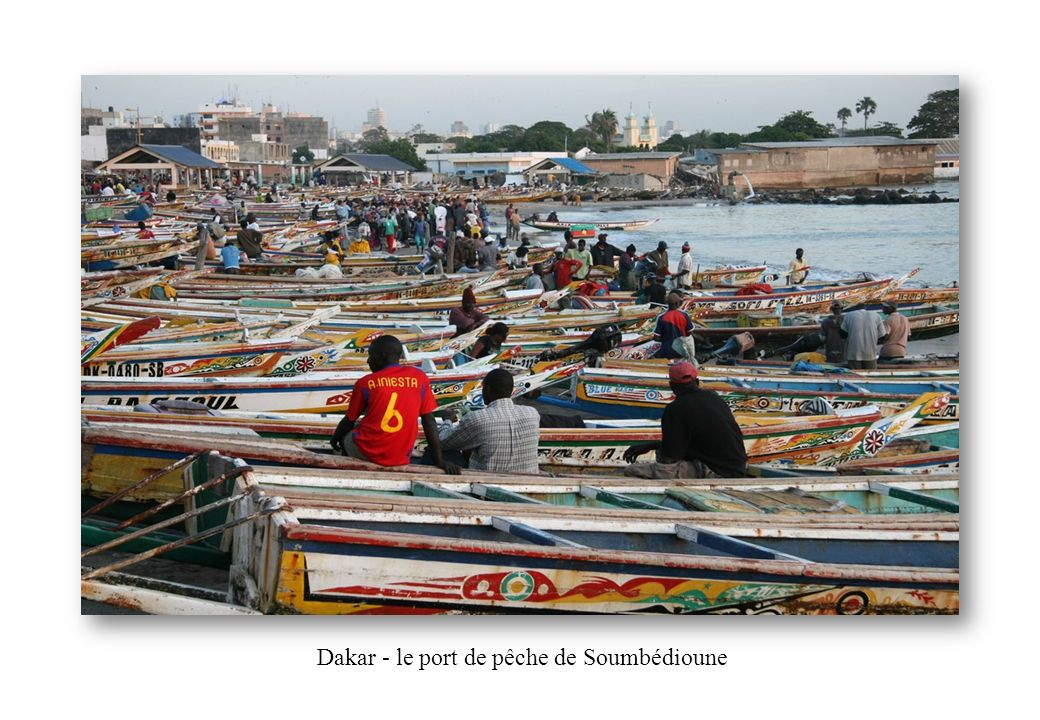Dakar - le port de pêche de Soumbédioune