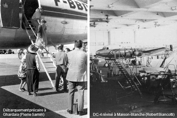 DC-4 révisé à Maison-Blanche (Robert Biancotti)