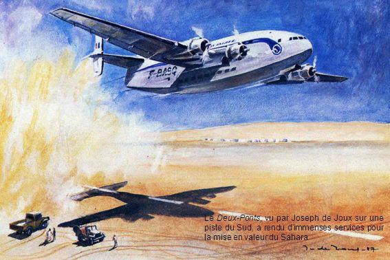 Le Deux-Ponts, vu par Joseph de Joux sur une piste du Sud, a rendu d'immenses services pour la mise en valeur du Sahara