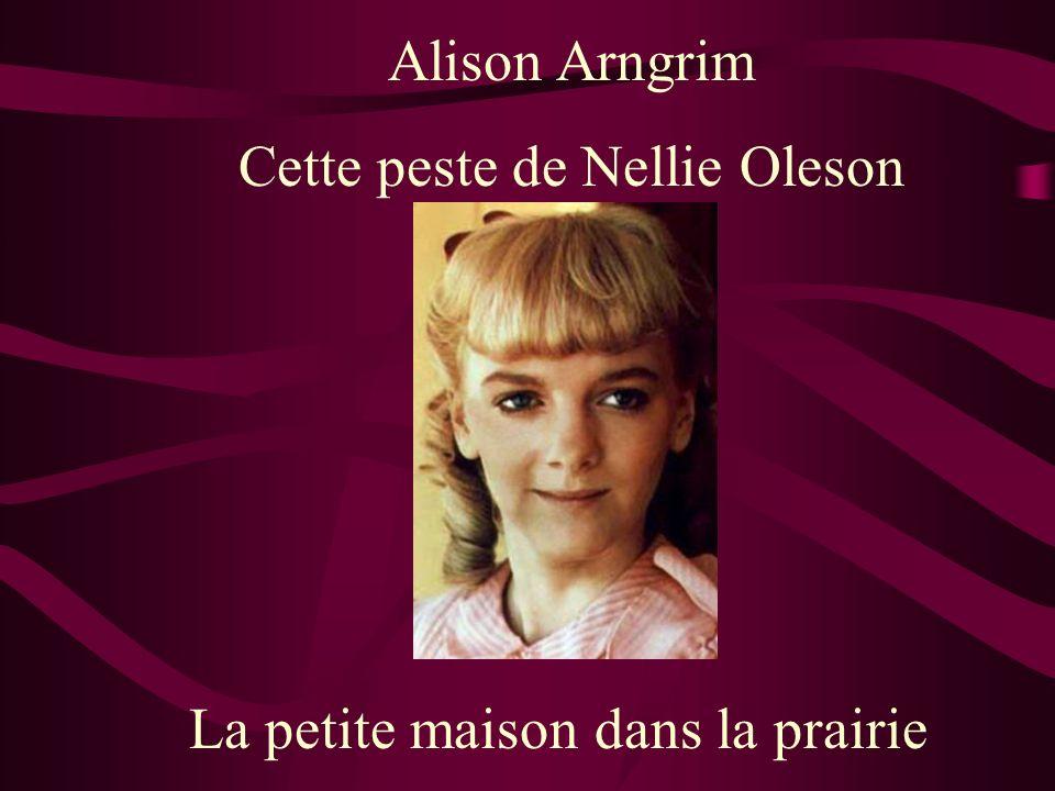 Cette peste de Nellie Oleson