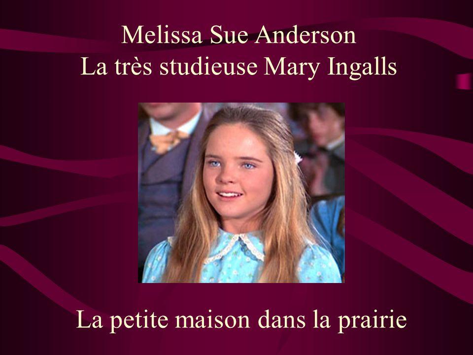 La très studieuse Mary Ingalls