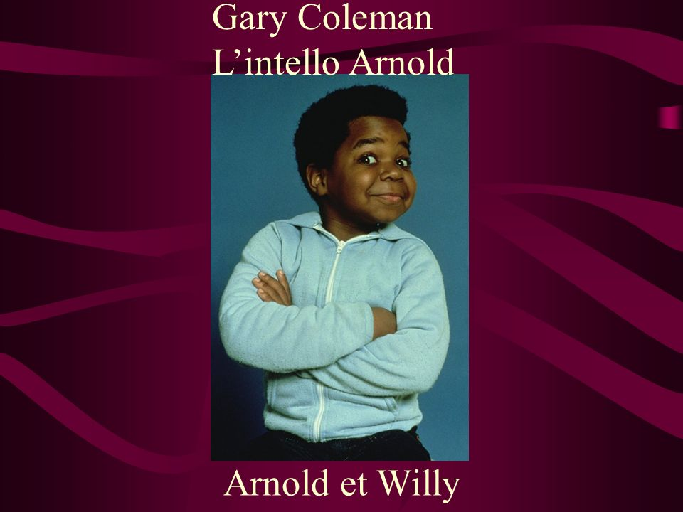 Gary Coleman L'intello Arnold Arnold et Willy