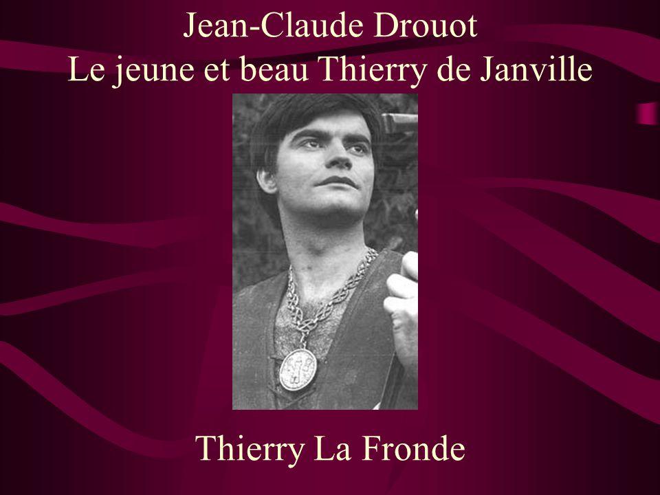 Le jeune et beau Thierry de Janville