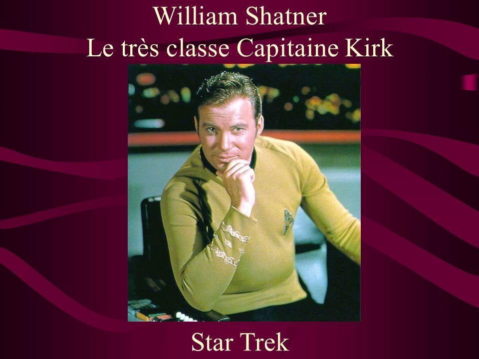 Le très classe Capitaine Kirk