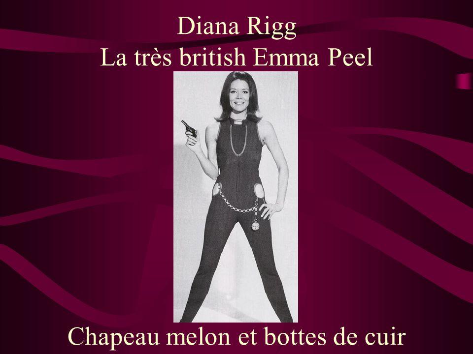 La très british Emma Peel