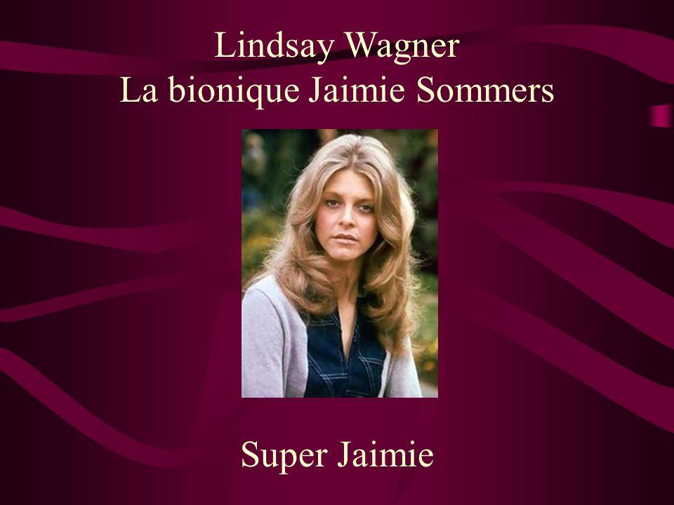 La bionique Jaimie Sommers