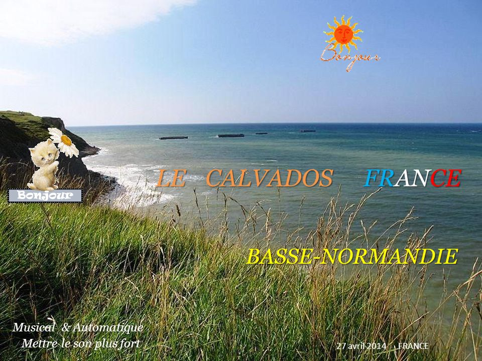 LE CALVADOS FRANCE BASSE-NORMANDIE
