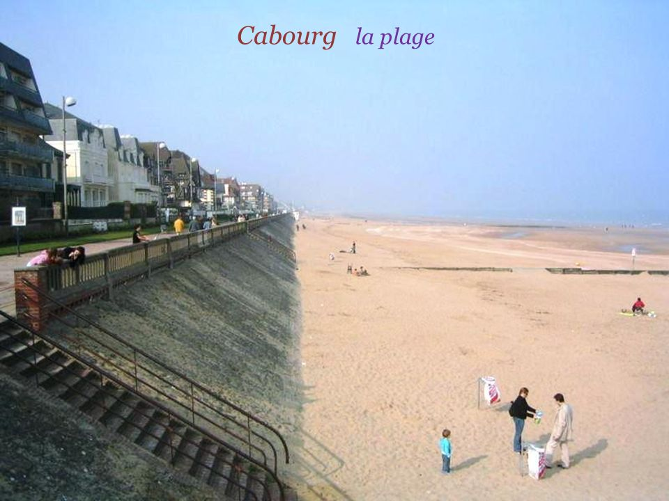Cabourg la plage