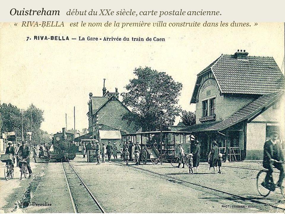 Ouistreham début du XXe siècle, carte postale ancienne