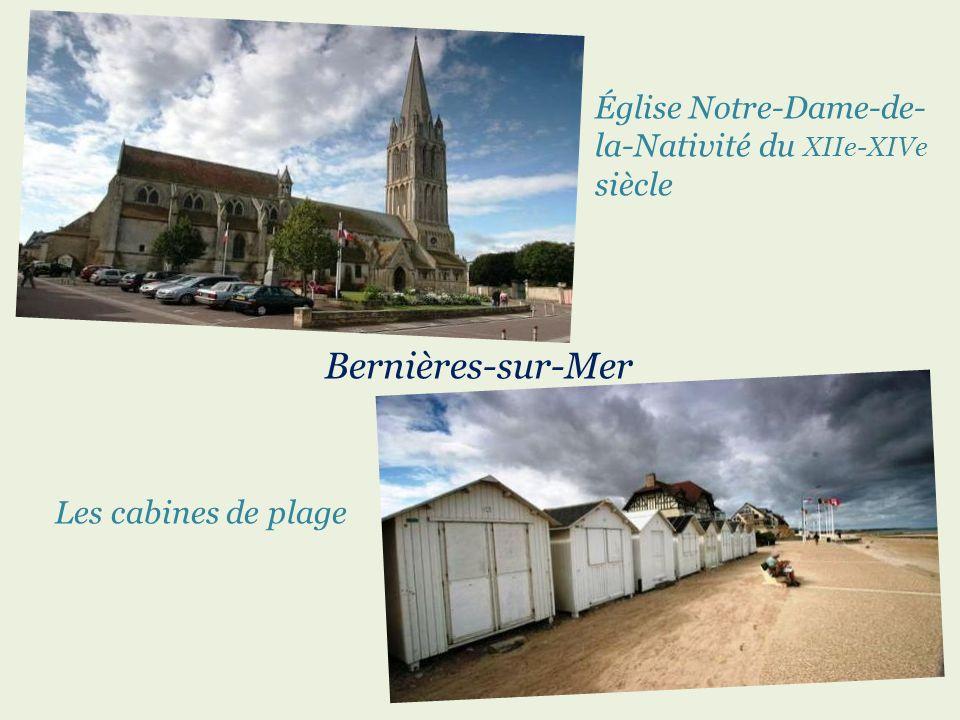 Bernières-sur-Mer Église Notre-Dame-de-la-Nativité du XIIe-XIVe siècle