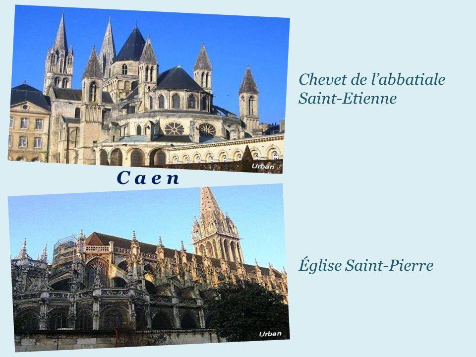 Chevet de l'abbatiale Saint-Etienne