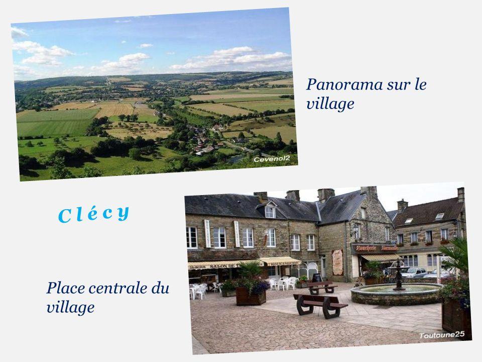Panorama sur le village