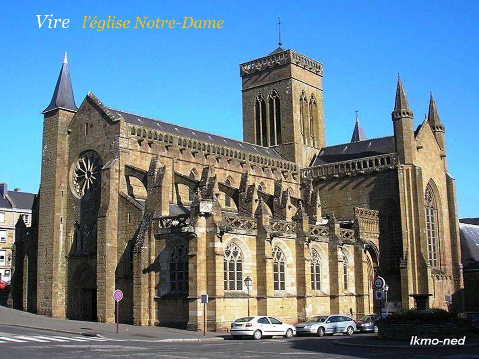 Vire l'église Notre-Dame