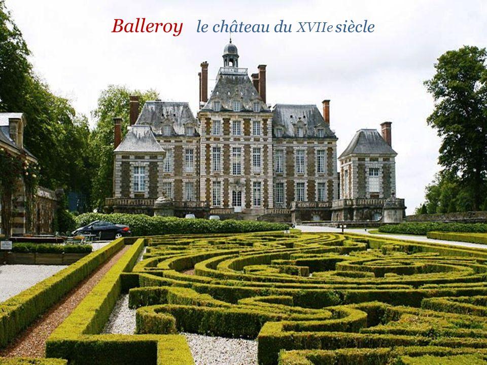 Balleroy le château du XVIIe siècle