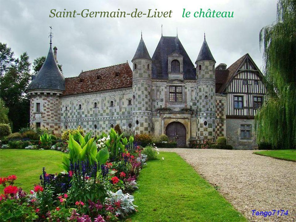 Saint-Germain-de-Livet le château