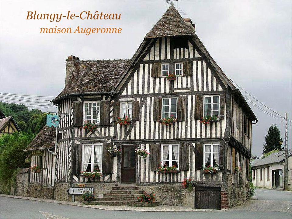Blangy-le-Château . maison Augeronne