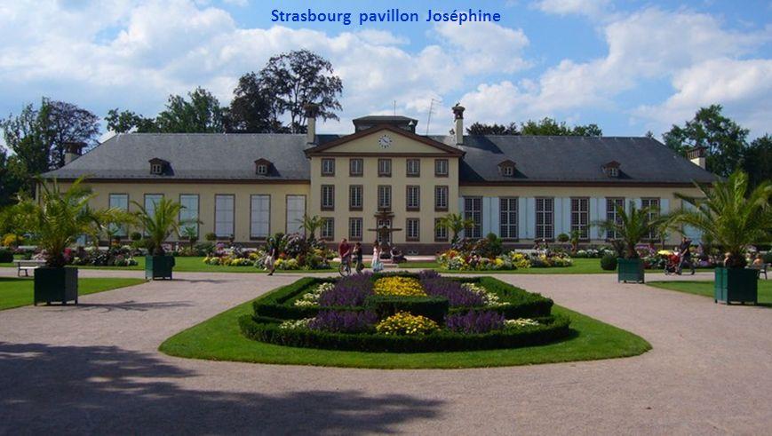 Strasbourg pavillon Joséphine