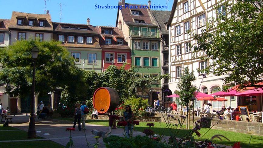 Strasbourg. Place des tripiers