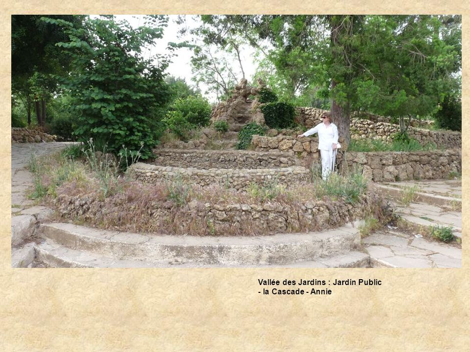 Vallée des Jardins : Jardin Public