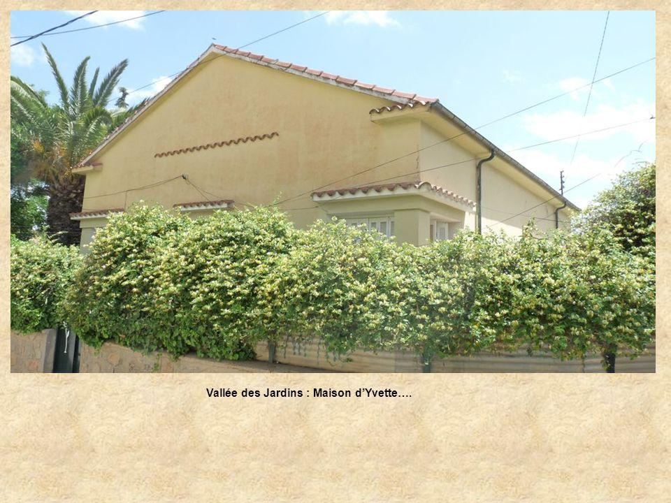 Vallée des Jardins : Maison d'Yvette….