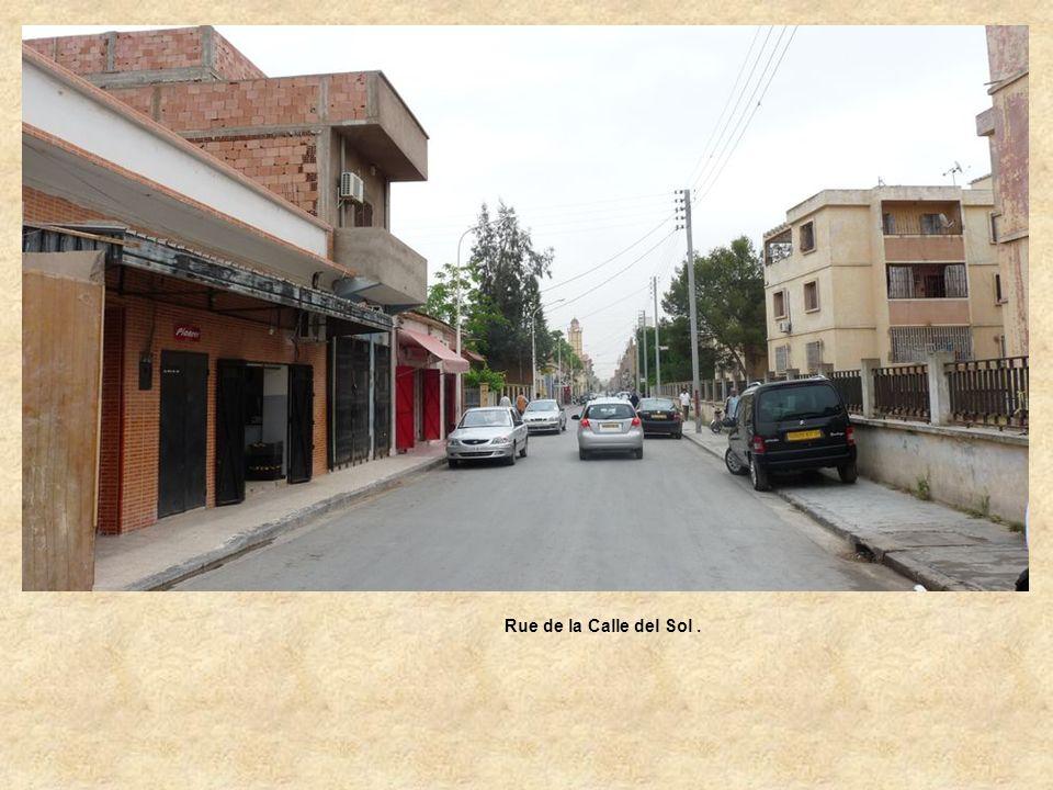 Rue de la Calle del Sol .