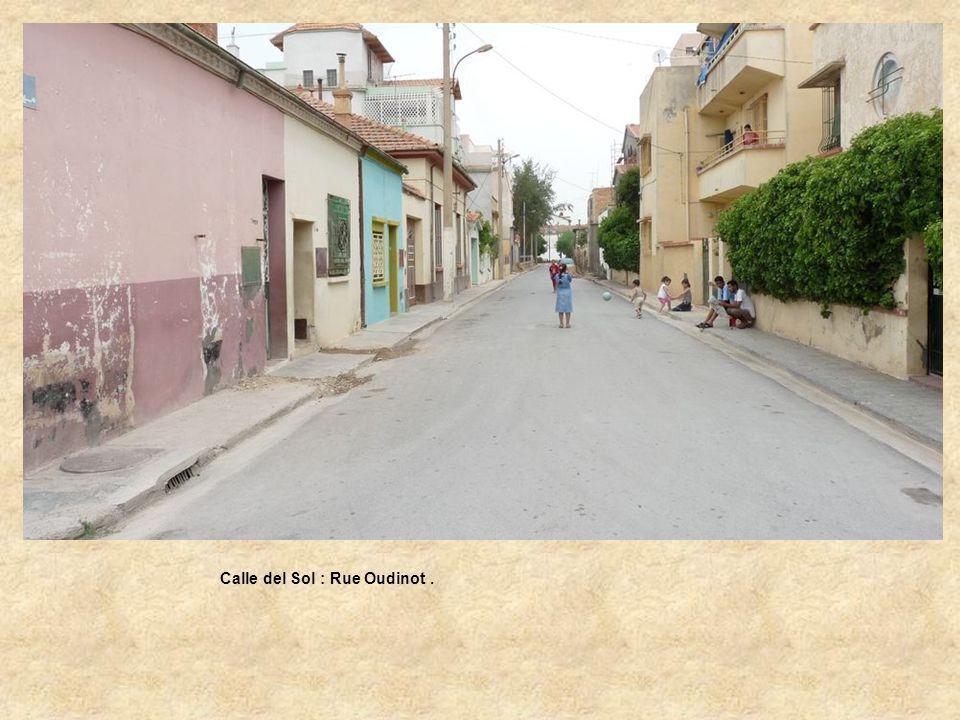 Calle del Sol : Rue Oudinot .