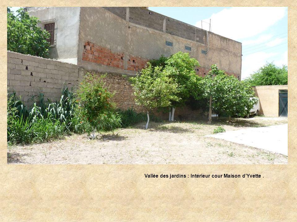 Vallée des jardins : Intérieur cour Maison d'Yvette .