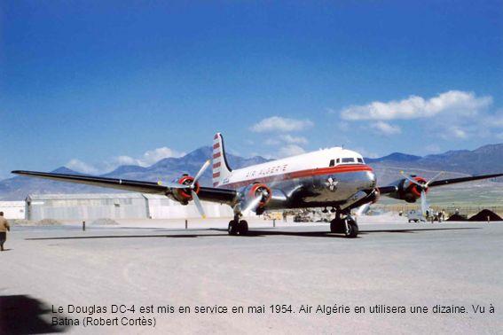Le Douglas DC-4 est mis en service en mai 1954