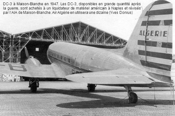 DC-3 à Maison-Blanche en 1947