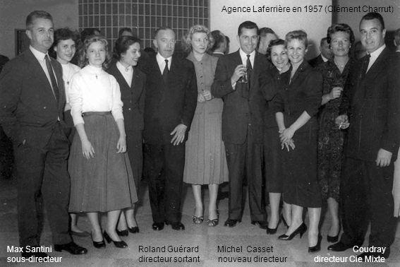Agence Laferrière en 1957 (Clément Charrut)