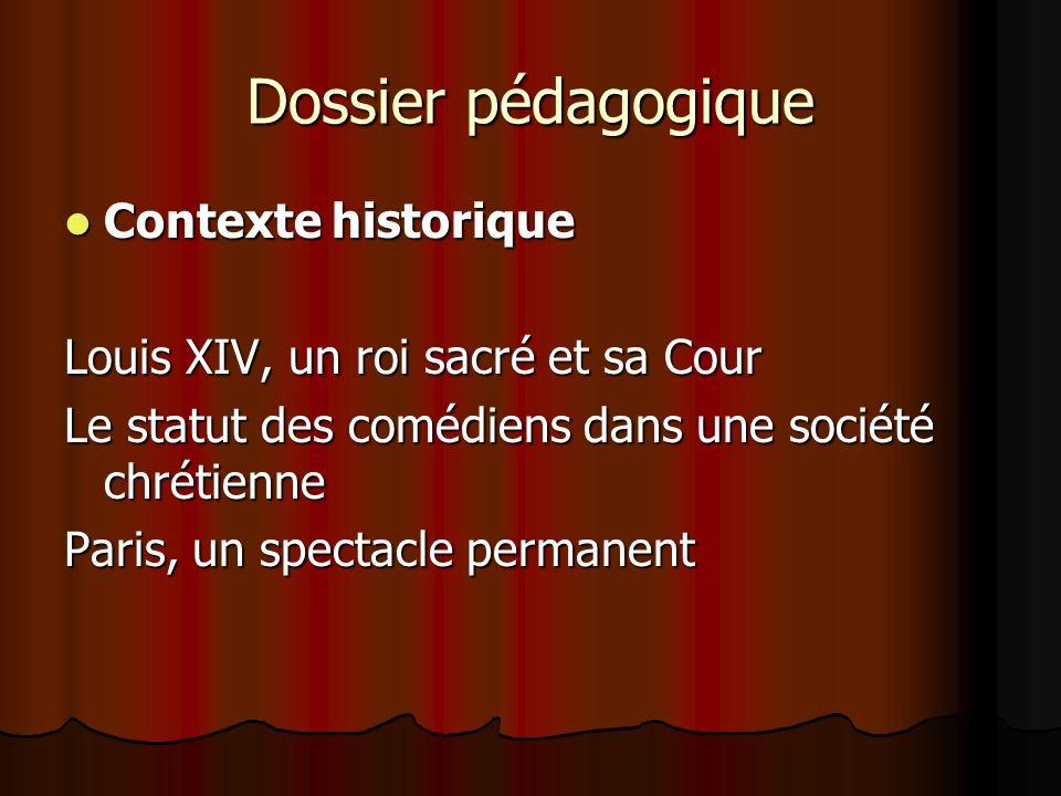 Dossier pédagogique Contexte historique