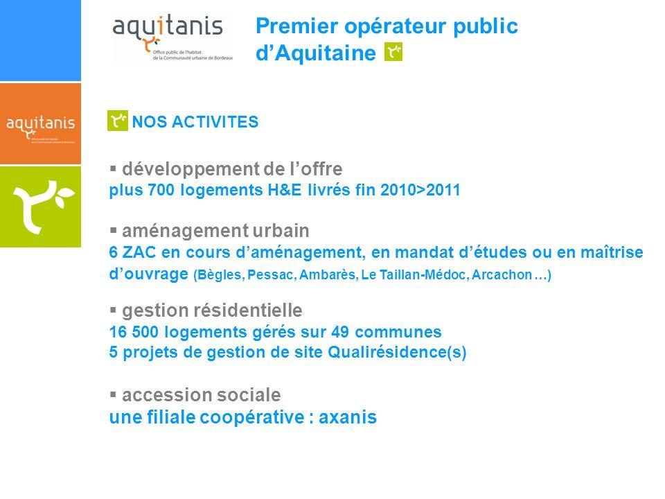 Premier opérateur public d'Aquitaine