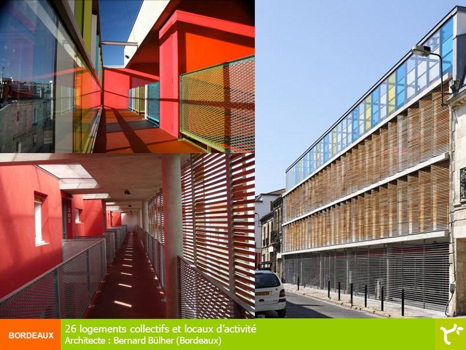 26 logements collectifs et locaux d'activité