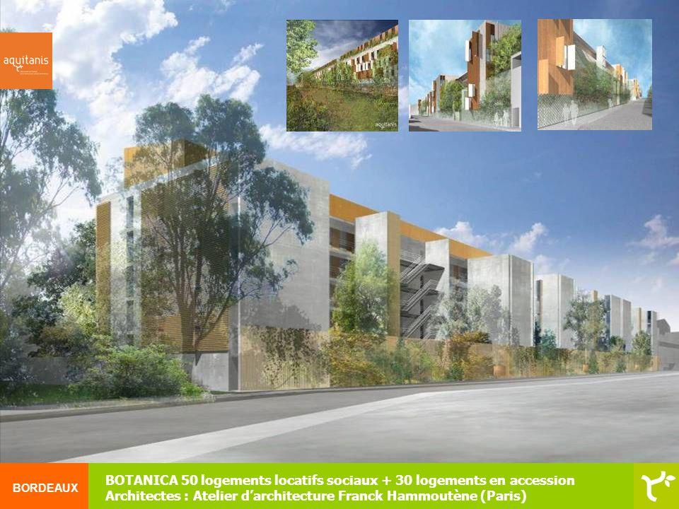 BOTANICA 50 logements locatifs sociaux + 30 logements en accession
