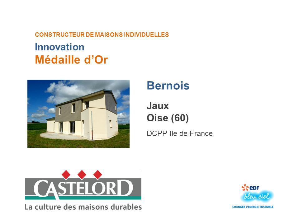 Médaille d'Or Bernois Innovation Jaux Oise (60) DCPP Ile de France