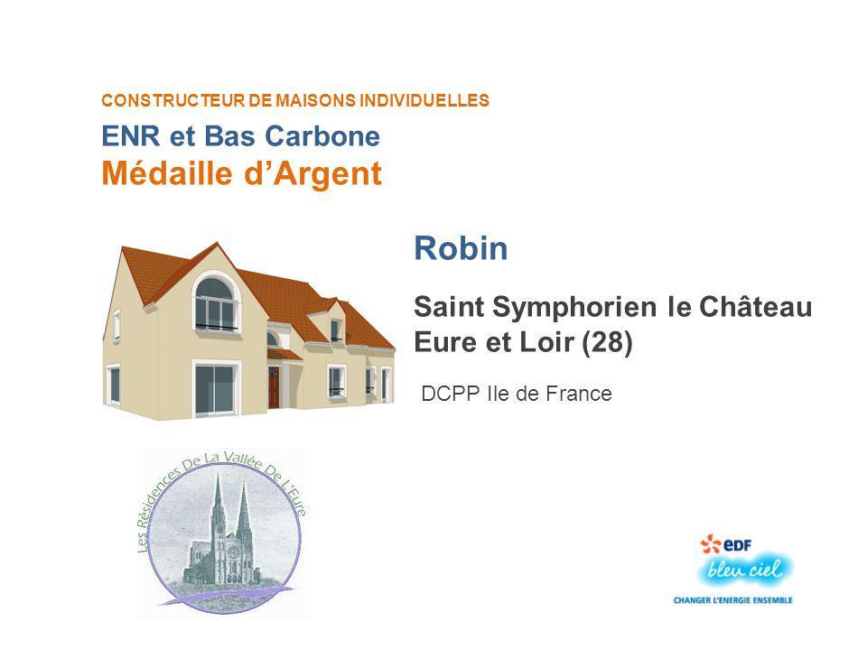 Médaille d'Argent Robin ENR et Bas Carbone Saint Symphorien le Château