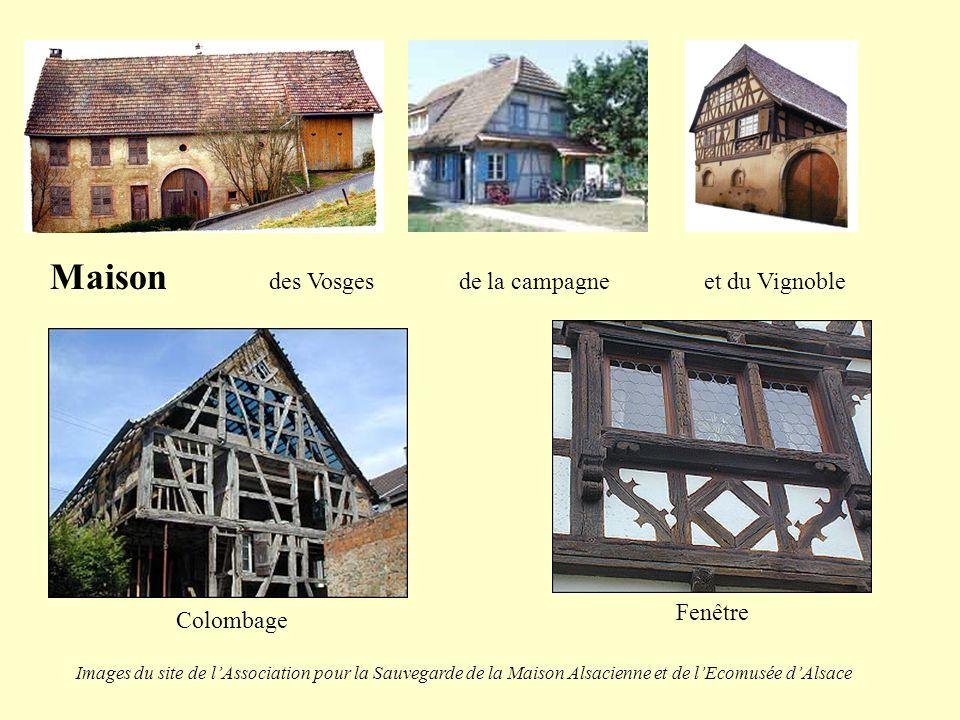 Maison des Vosges de la campagne et du Vignoble
