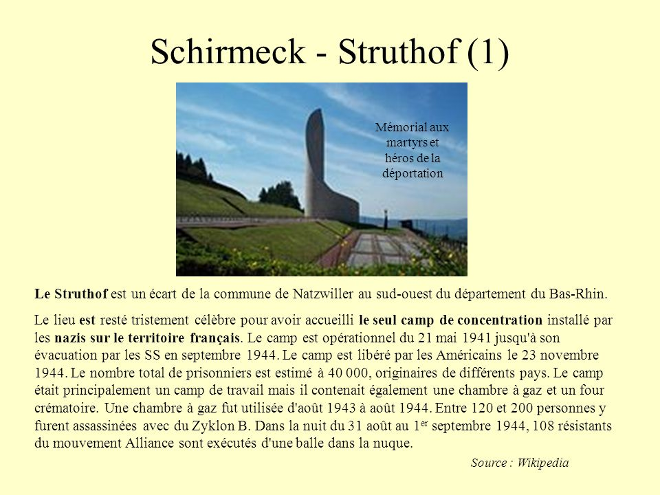 Schirmeck - Struthof (1)