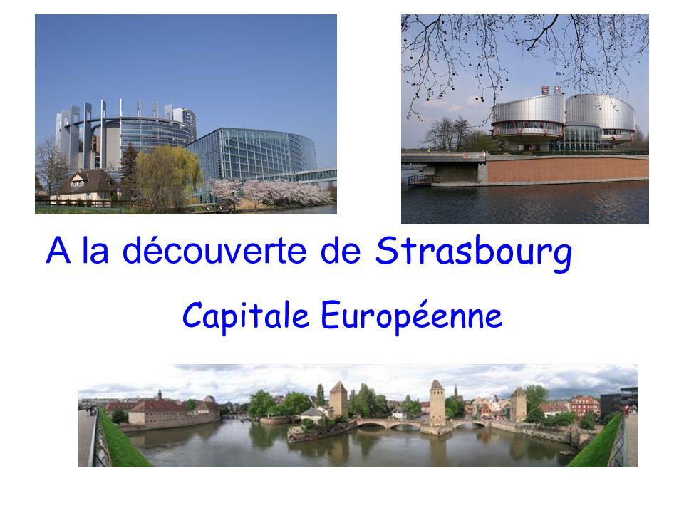 A la découverte de Strasbourg