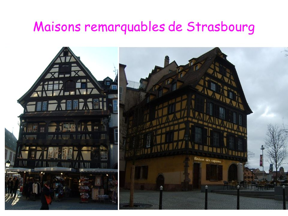Maisons remarquables de Strasbourg