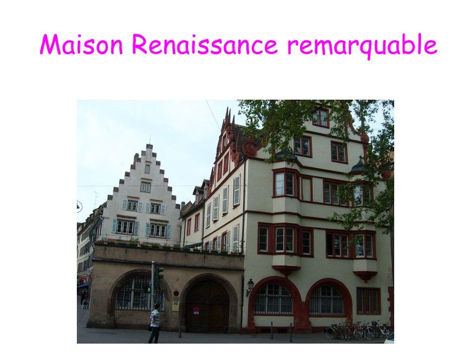 Maison Renaissance remarquable
