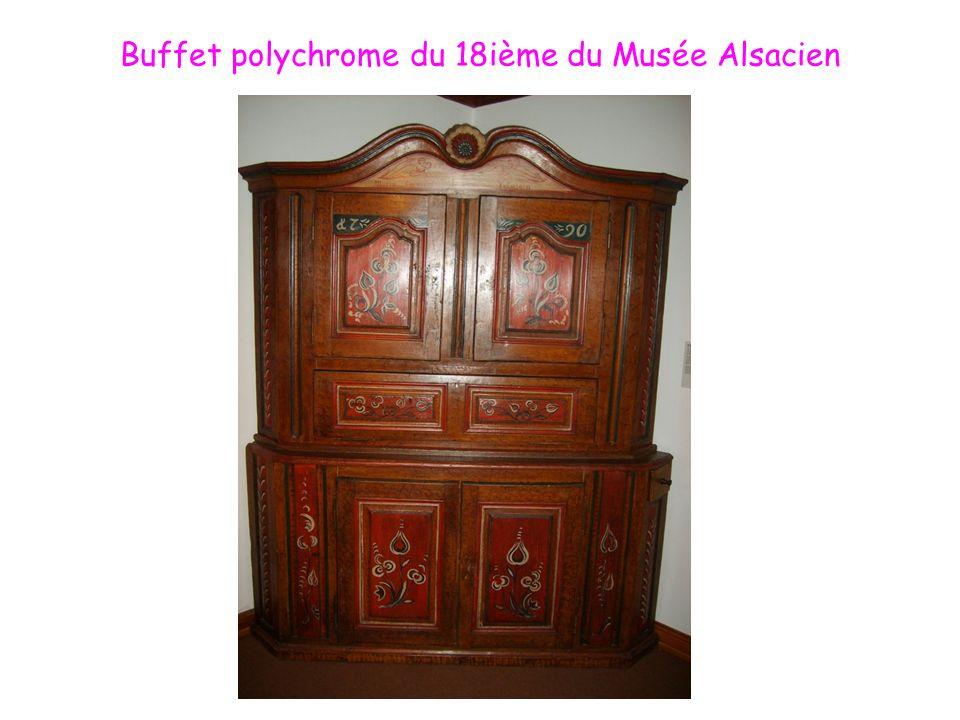 Buffet polychrome du 18ième du Musée Alsacien