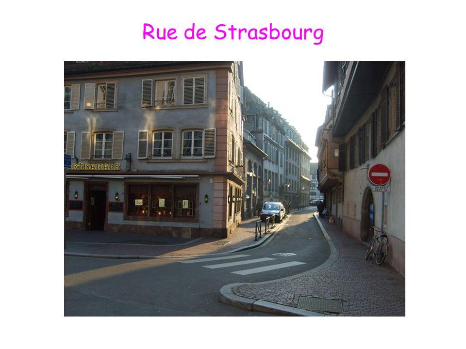 Rue de Strasbourg