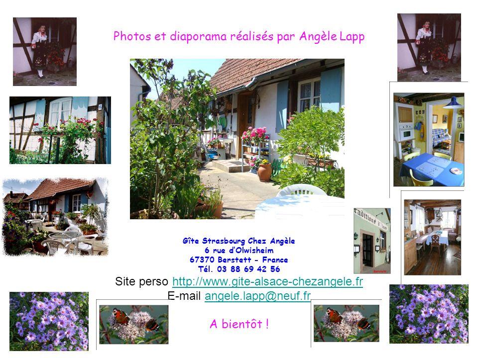 Photos et diaporama réalisés par Angèle Lapp
