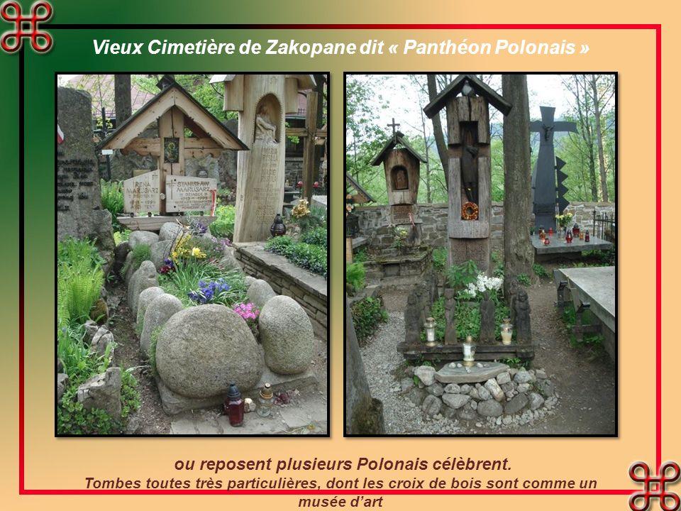 Vieux Cimetière de Zakopane dit « Panthéon Polonais »